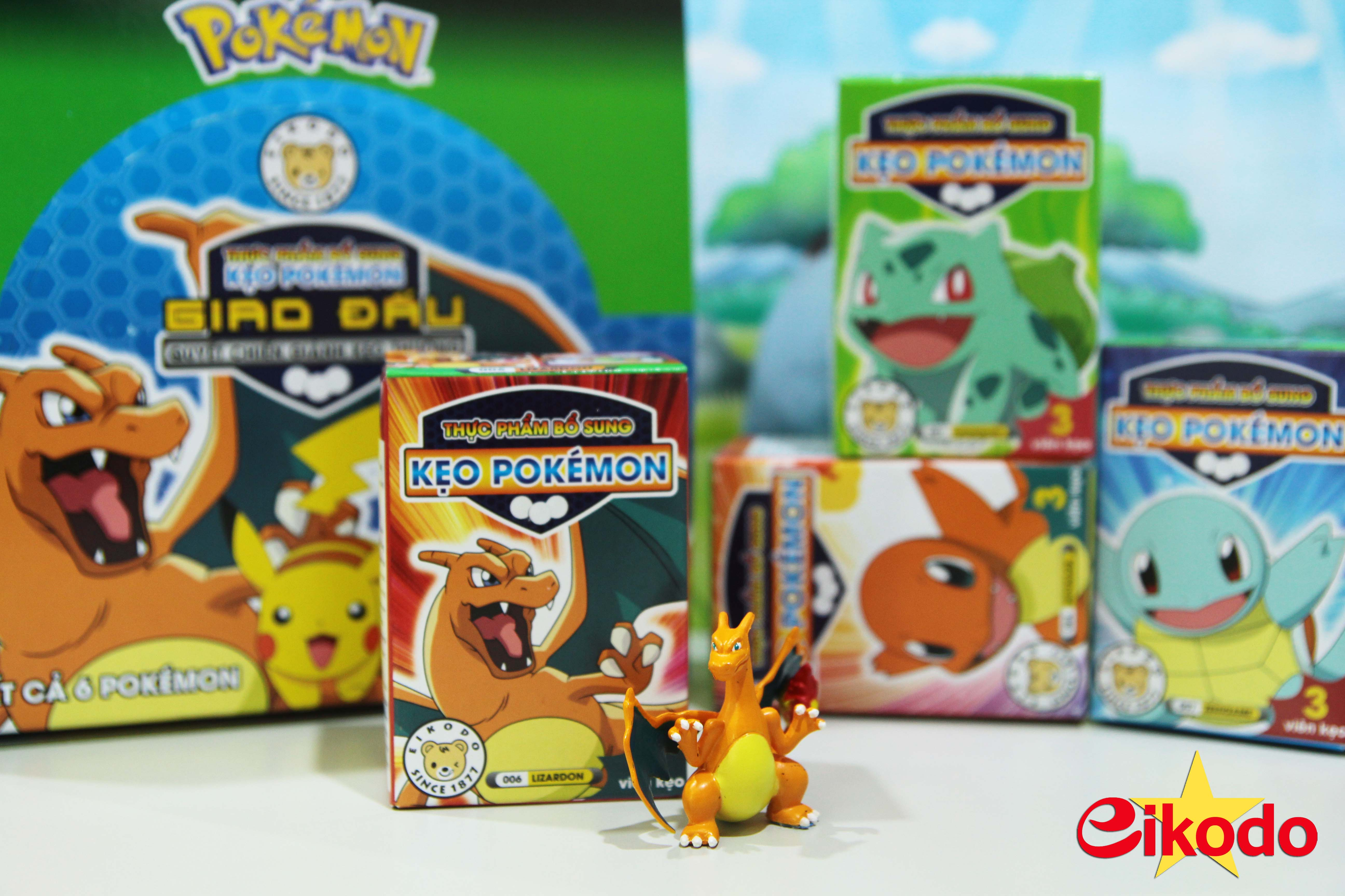 Bộ sưu tầm những chú Pokemon