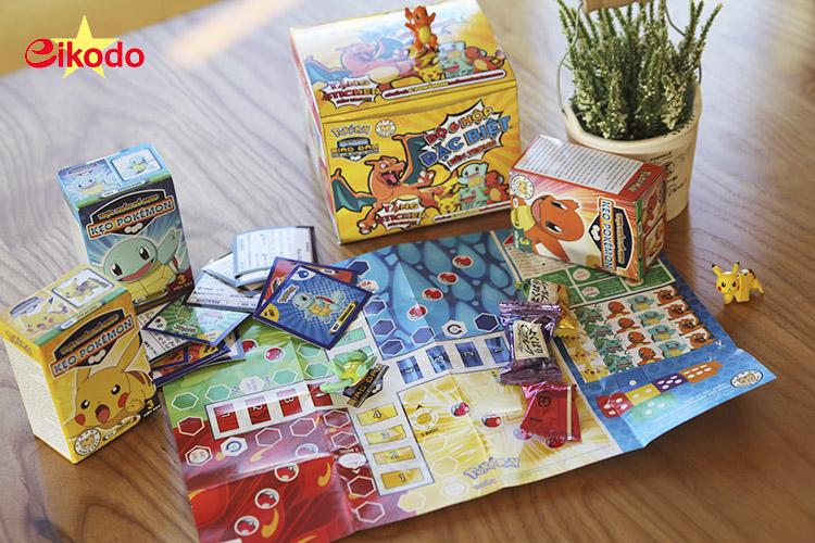 Đố bạn biết: Có bao nhiêu Pokémon trong hộp gift box của Eikodo?