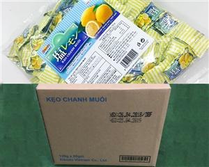 Thùng kẹo chanh muối (loại 500g)