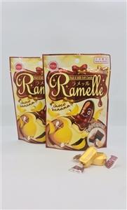 Kẹo mềm  Ramelle sôcôla chuối cao cấp