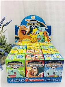 Kẹo Pokemon - hộp lớn