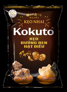 Kẹo Đường đen hạt điều Kokuto
