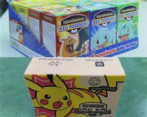 Thùng kẹo Pokemon Series 2